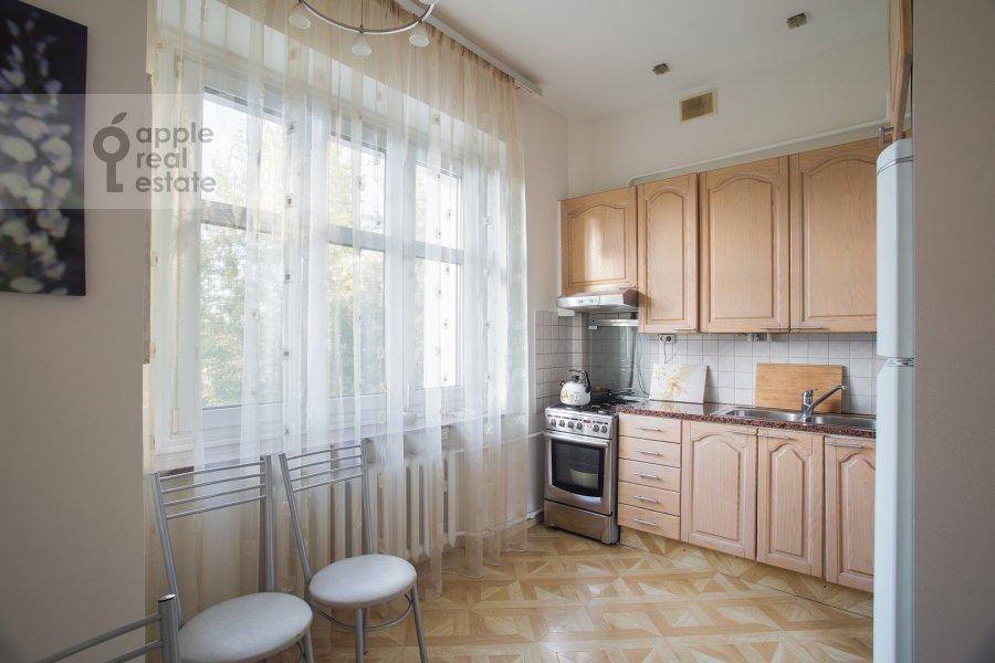 Kitchen of the 3-room apartment at Bronnaya Malaya ul. 13