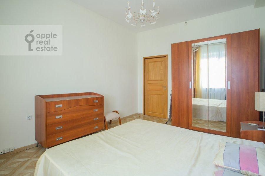 Bedroom of the 3-room apartment at Bronnaya Malaya ul. 13