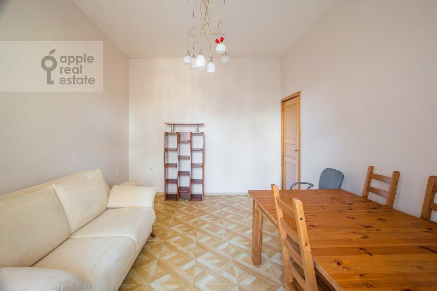 Children's room / Cabinet of the 3-room apartment at Bronnaya Malaya ul. 13