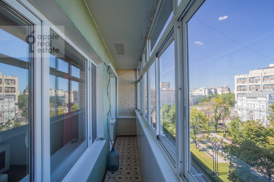Balcony / Terrace / Loggia of the 4-room apartment at Nikitskiy bul'v. 17