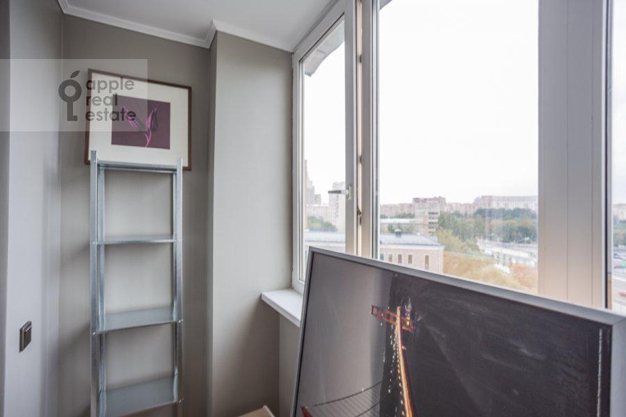 Balcony / Terrace / Loggia of the 2-room apartment at Bol'shaya Dorogomilovskaya ulitsa 8