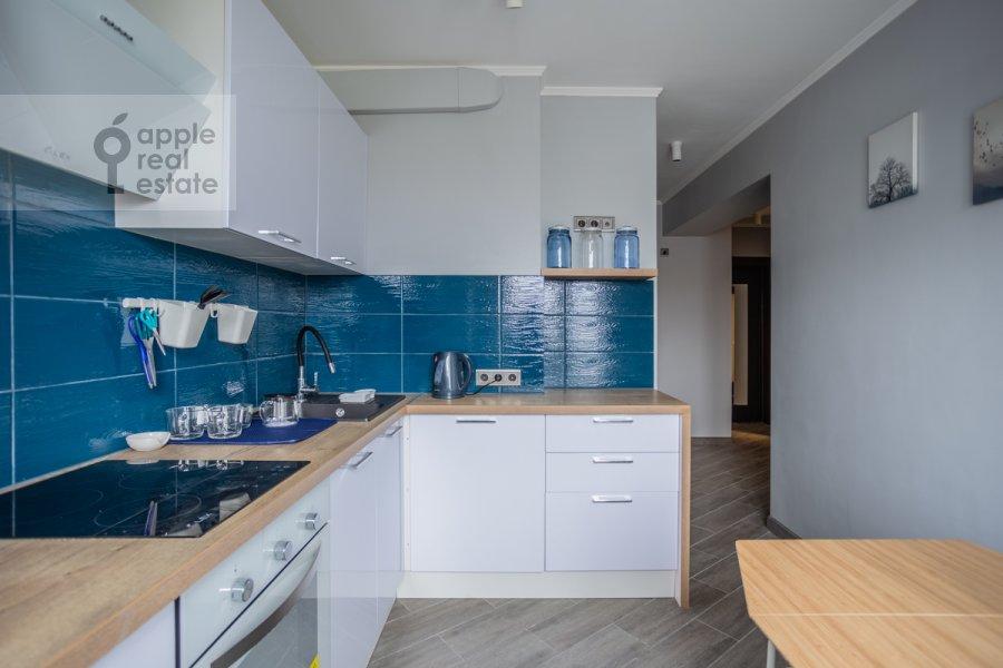 Kitchen of the 2-room apartment at Bol'shaya Dorogomilovskaya ulitsa 8