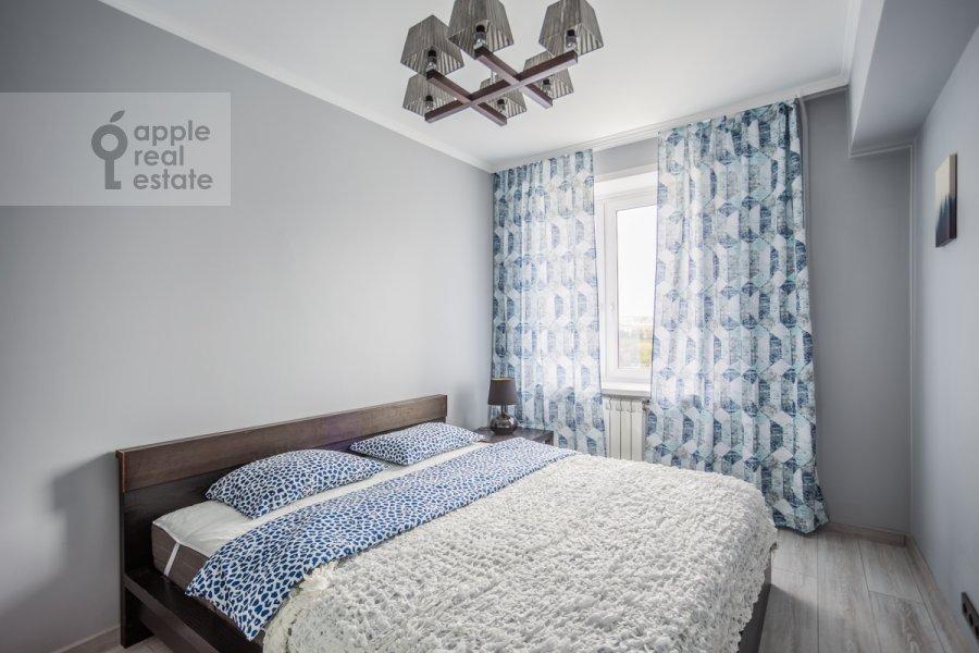 Bedroom of the 2-room apartment at Bol'shaya Dorogomilovskaya ulitsa 8