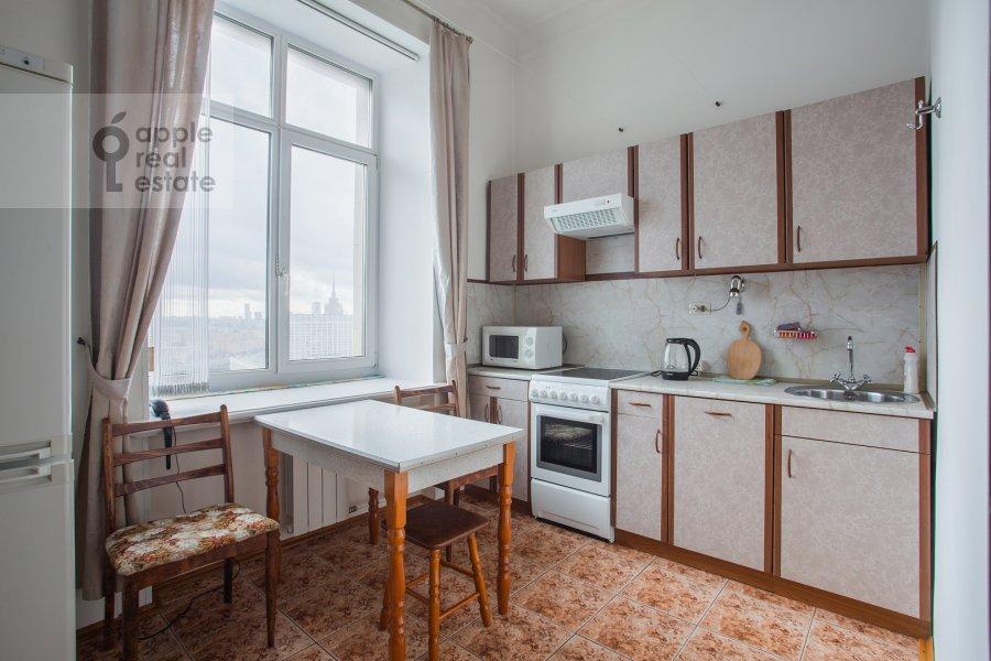 Kitchen of the 2-room apartment at Kudrinskaya pl. 1