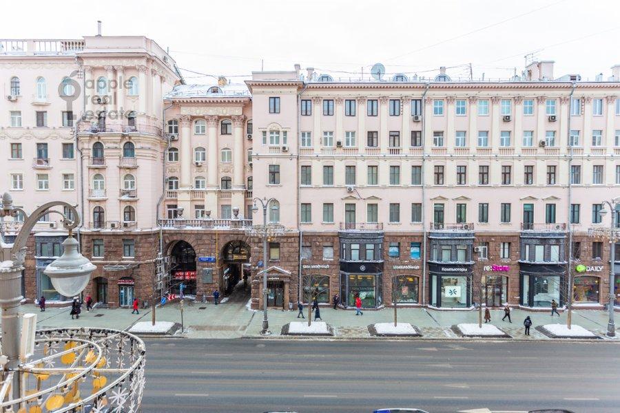 Вид из окна в 5-комнатной квартире по адресу Тверская ул. 28с1