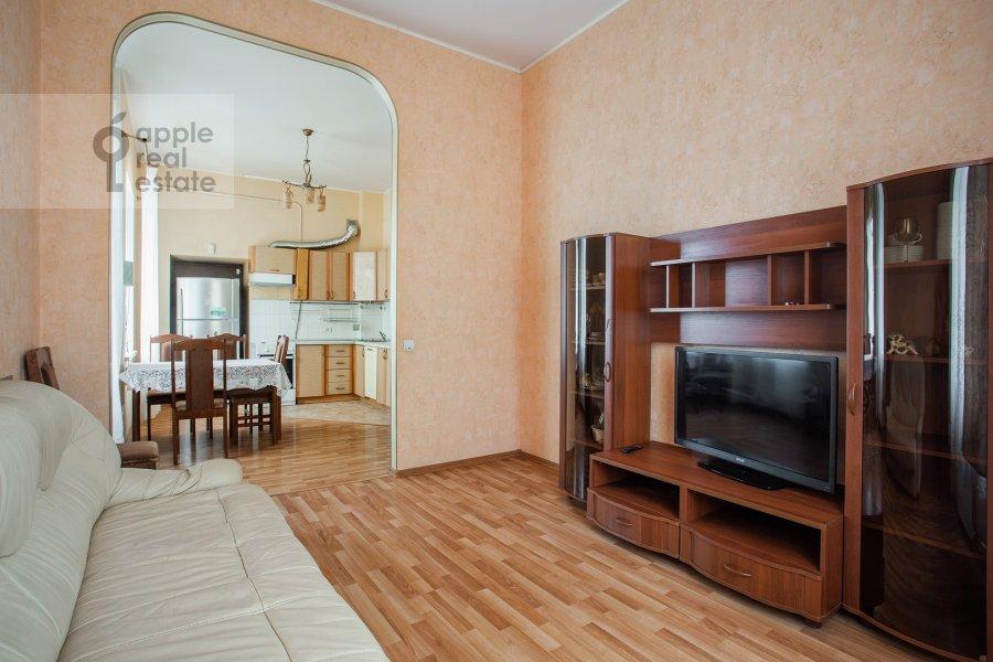 Гостиная в 4-комнатной квартире по адресу Климентовский пер. 6
