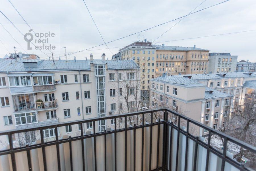 Балкон / Терраса / Лоджия в 3-комнатной квартире по адресу Большая Бронная улица 7