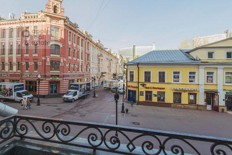 Balcony / Terrace / Loggia of the 4-room apartment at Arbat ul. 43