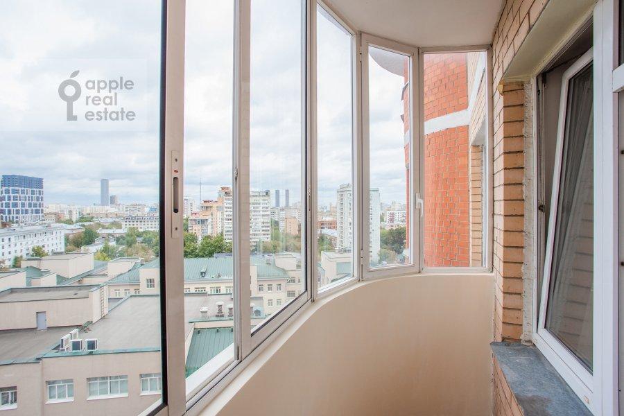 Balcony / Terrace / Loggia of the 4-room apartment at Petrovsko-Razumovskaya alleya 10k2