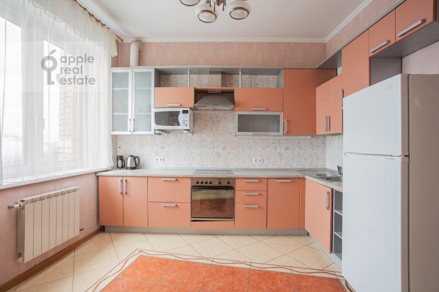 Kitchen of the 4-room apartment at Petrovsko-Razumovskaya alleya 10k2