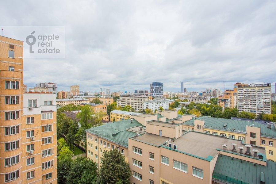 View from the window of the 4-room apartment at Petrovsko-Razumovskaya alleya 10k2