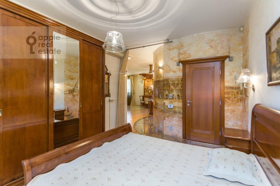 Bedroom of the 3-room apartment at Serpukhovskiy per. 7k1