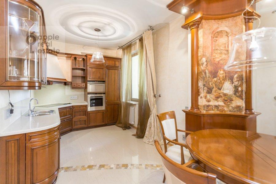 Kitchen of the 3-room apartment at Serpukhovskiy per. 7k1