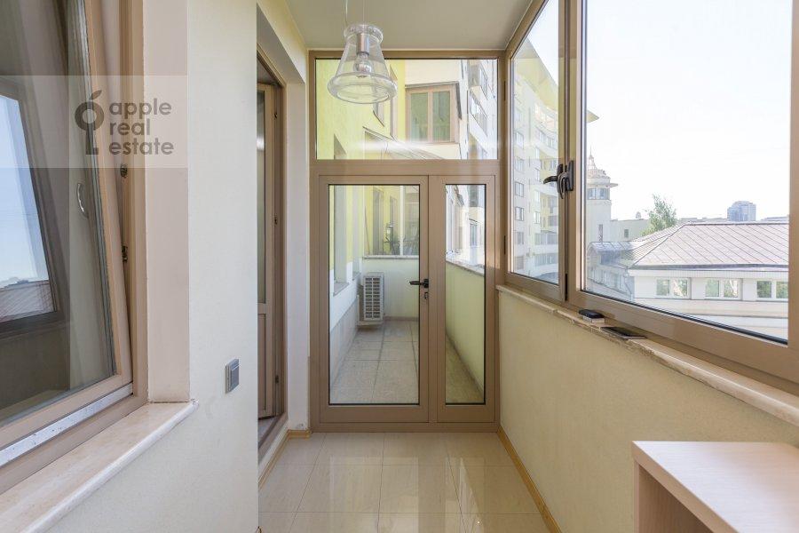 Balcony / Terrace / Loggia of the 3-room apartment at Serpukhovskiy per. 7k1