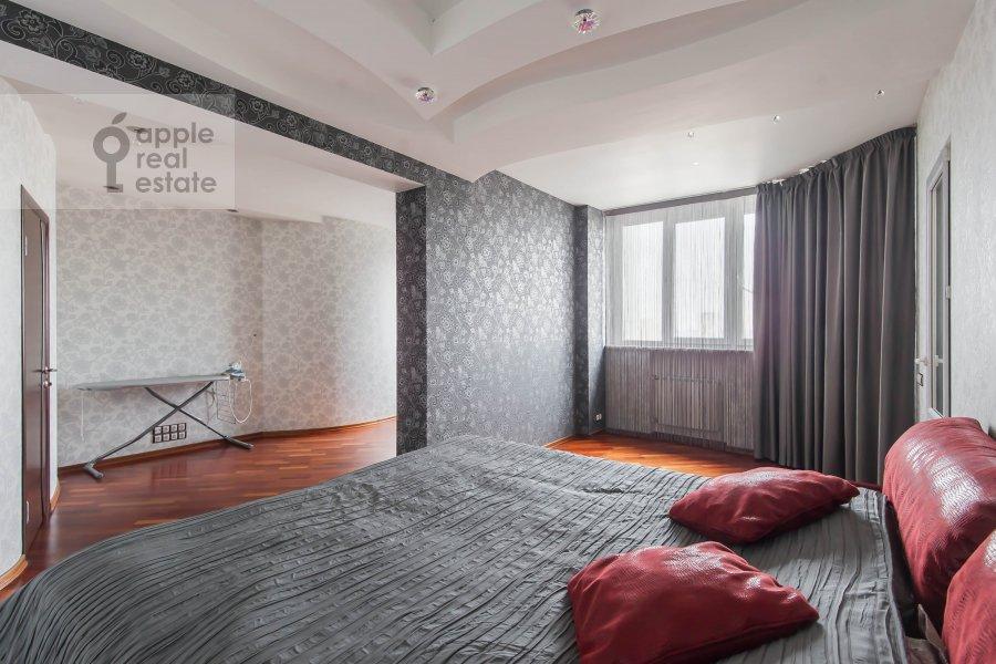 Спальня в 3-комнатной квартире по адресу Ходынский бульвар 5к2