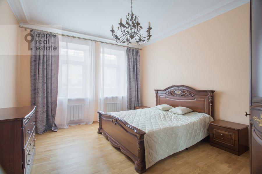 Bedroom of the 2-room apartment at Tverskaya ul. 6s1