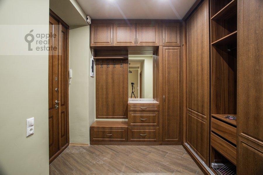 Corridor of the 2-room apartment at Tverskaya ul. 6s1