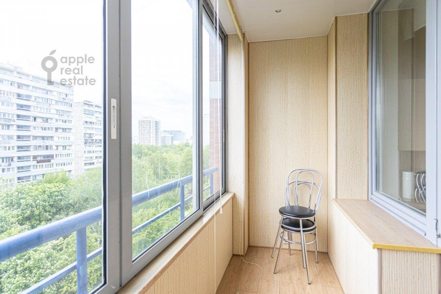 Балкон / Терраса / Лоджия в 4-комнатной квартире по адресу Ленинский  просп. 126