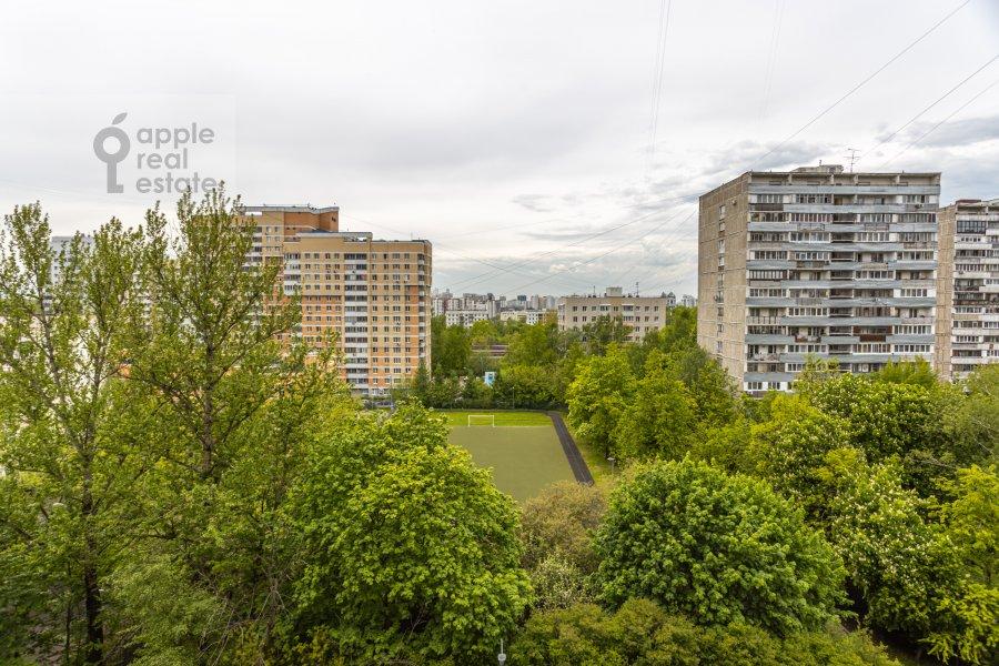 Вид из окна в 4-комнатной квартире по адресу Ленинский  просп. 126