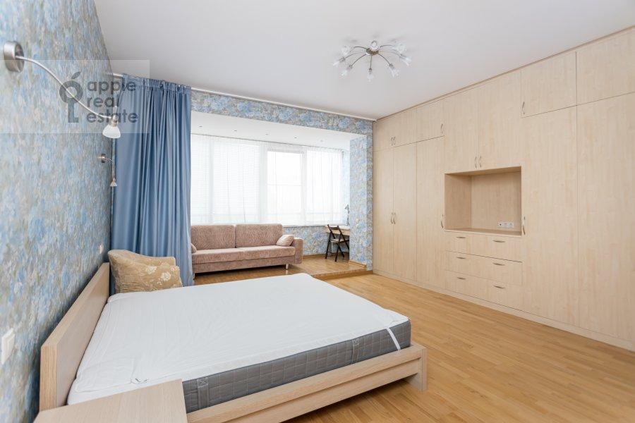 Спальня в 4-комнатной квартире по адресу Ленинский  просп. 126