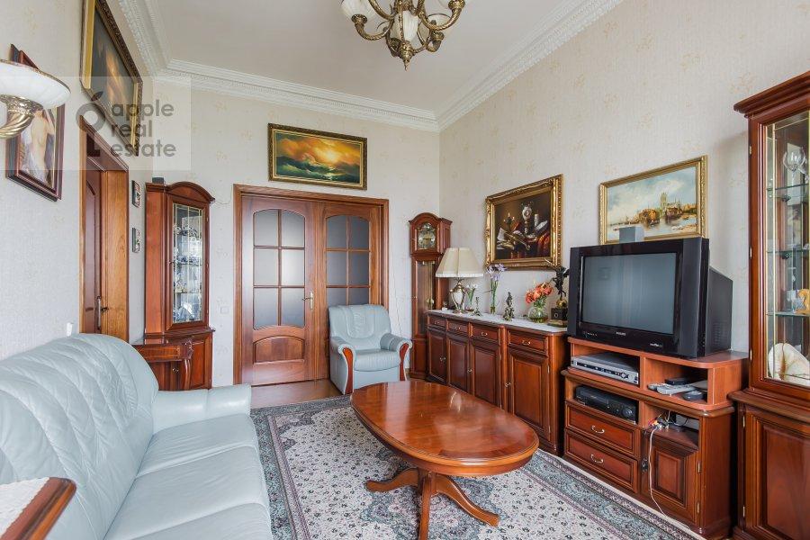 Living room of the 3-room apartment at Leninskiy pr-t. 11st1