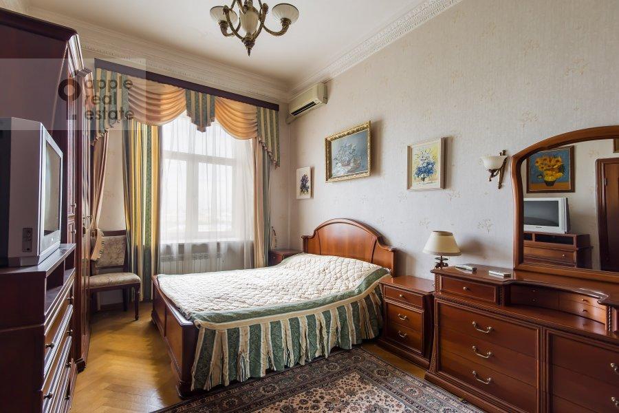 Bedroom of the 3-room apartment at Leninskiy pr-t. 11st1