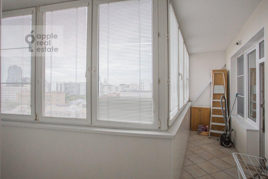 Балкон / Терраса / Лоджия в 2-комнатной квартире по адресу Астраханский пер. 10/36