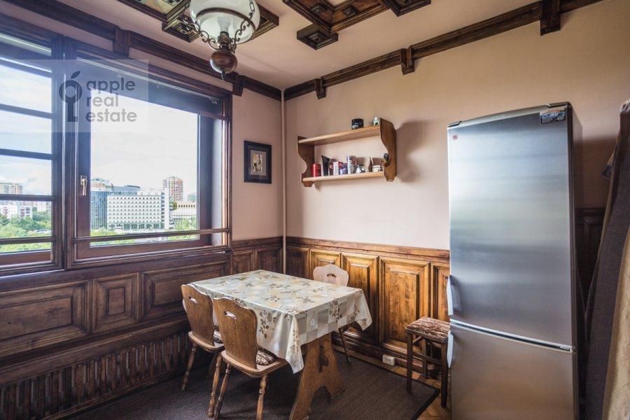 Kitchen of the 2-room apartment at Vernadskogo prosp. 89