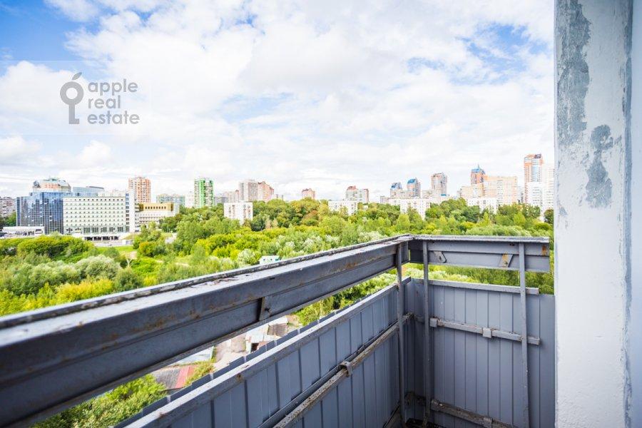 Балкон / Терраса / Лоджия в 2-комнатной квартире по адресу Вернадского просп. 89