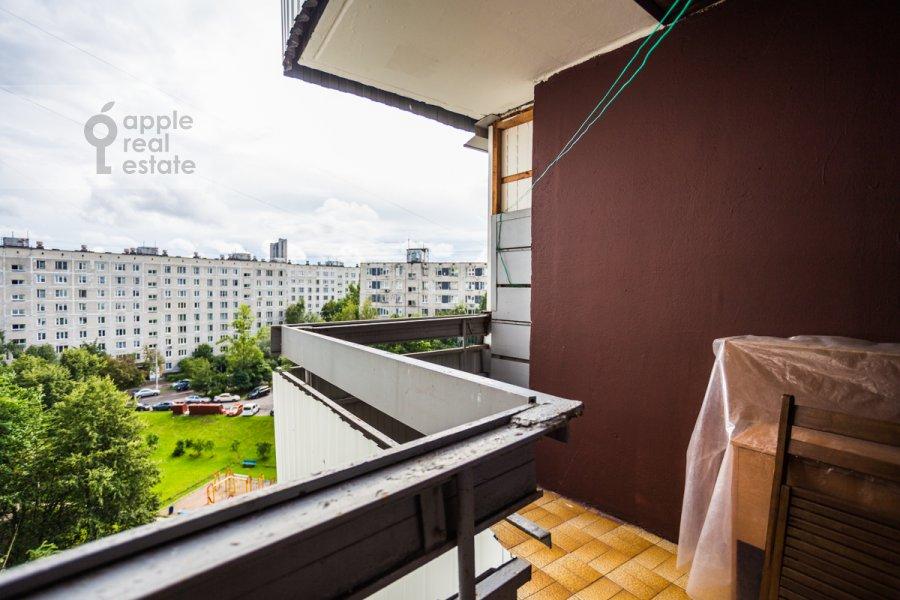 Balcony / Terrace / Loggia of the 2-room apartment at Vernadskogo prosp. 89