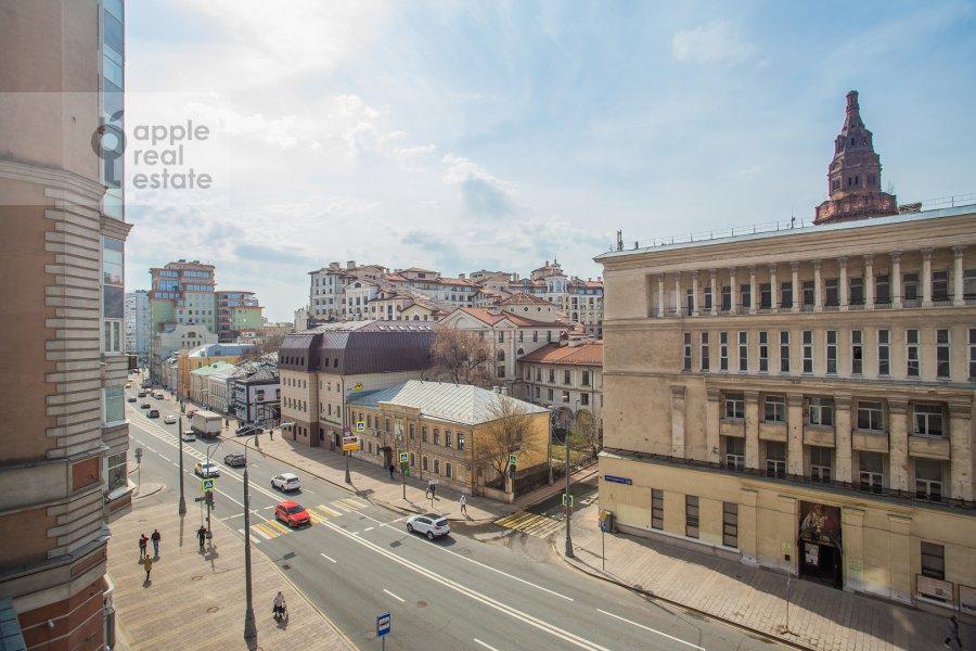 Вид из окна в 4-комнатной квартире по адресу Долгоруковская ул. 6