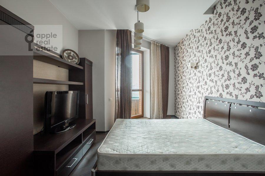 Bedroom of the 3-room apartment at Minskaya ulitsa 1gK3
