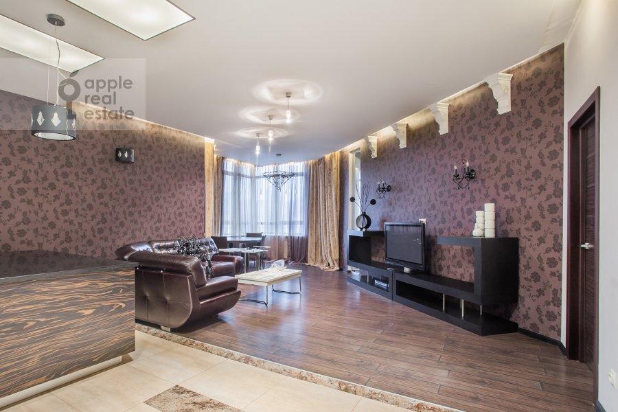 Living room of the 3-room apartment at Minskaya ulitsa 1gK3