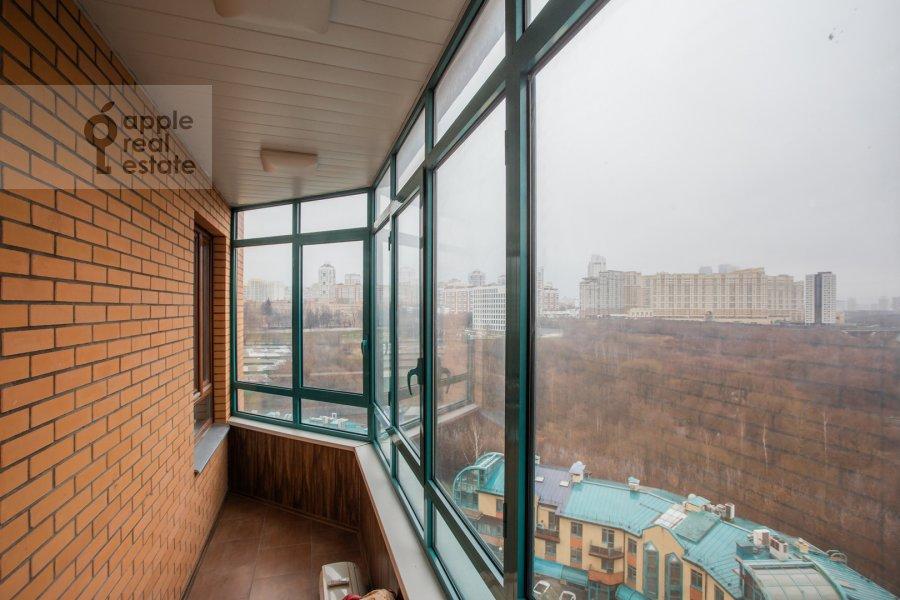 Balcony / Terrace / Loggia of the 3-room apartment at Minskaya ulitsa 1gK3