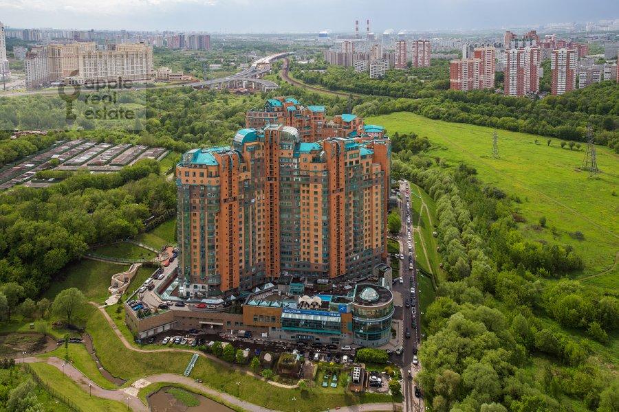 Photo of the house of the 3-room apartment at Minskaya ulitsa 1gK3