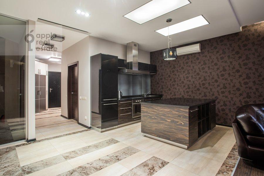 Kitchen of the 3-room apartment at Minskaya ulitsa 1gK3