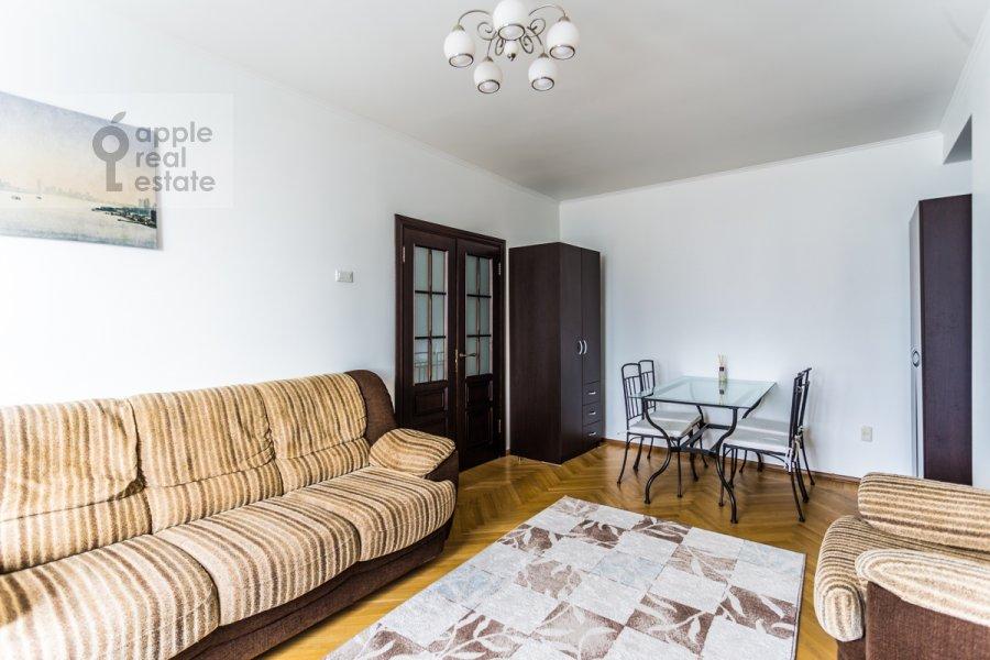 Гостиная в 3-комнатной квартире по адресу Новый Арбат ул. 26