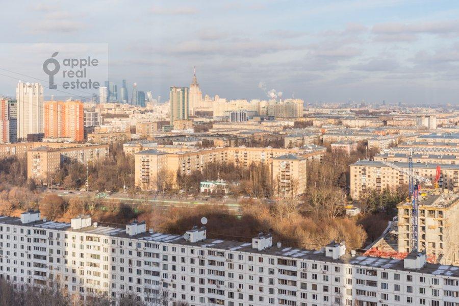 Вид из окна в 3-комнатной квартире по адресу Ленинский пр-т. 92к1