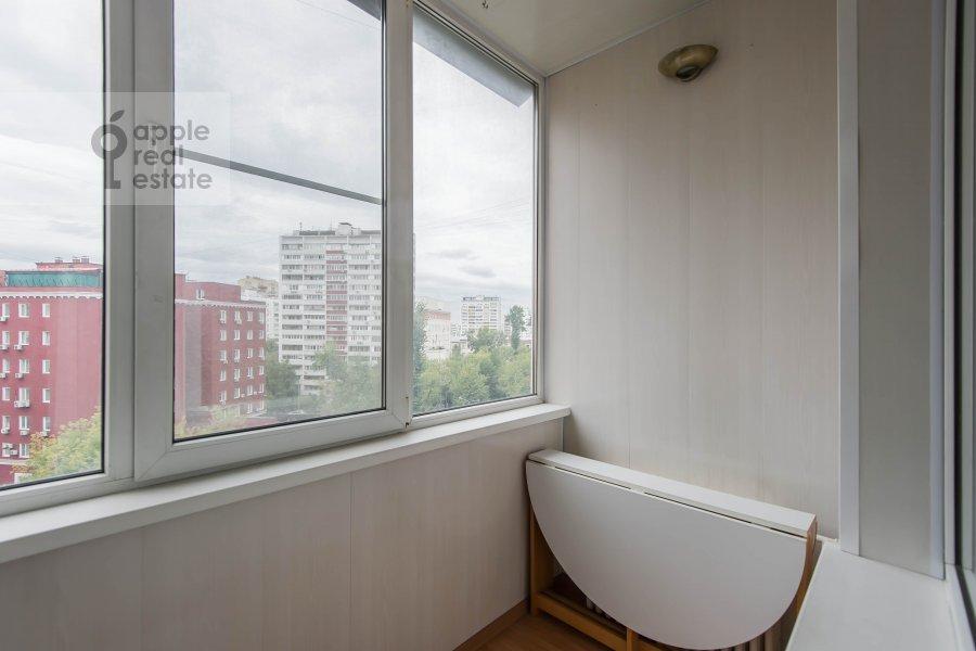 Балкон / Терраса / Лоджия в 3-комнатной квартире по адресу Андроньевская Большая ул. 25/33