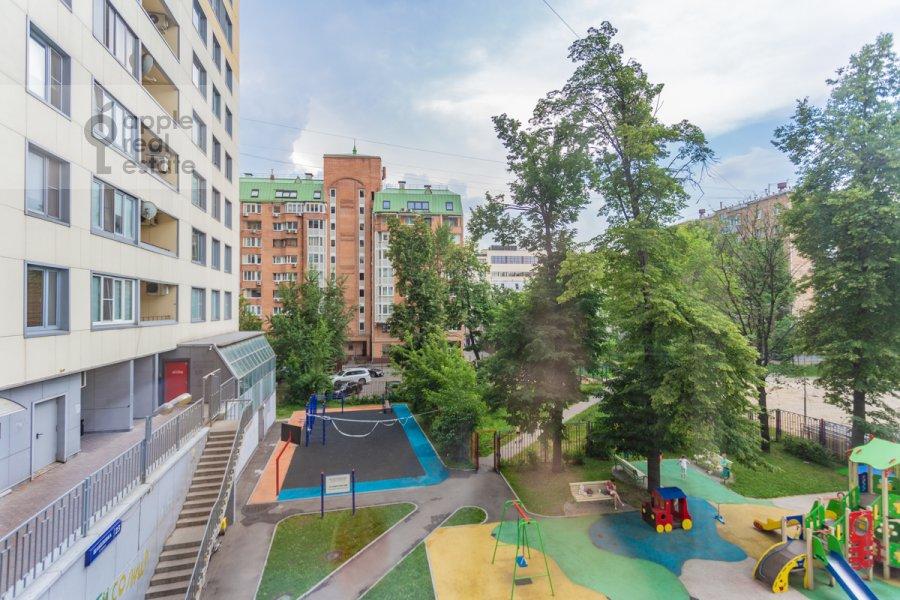 Вид из окна в 4-комнатной квартире по адресу Шаболовка ул. 23к5