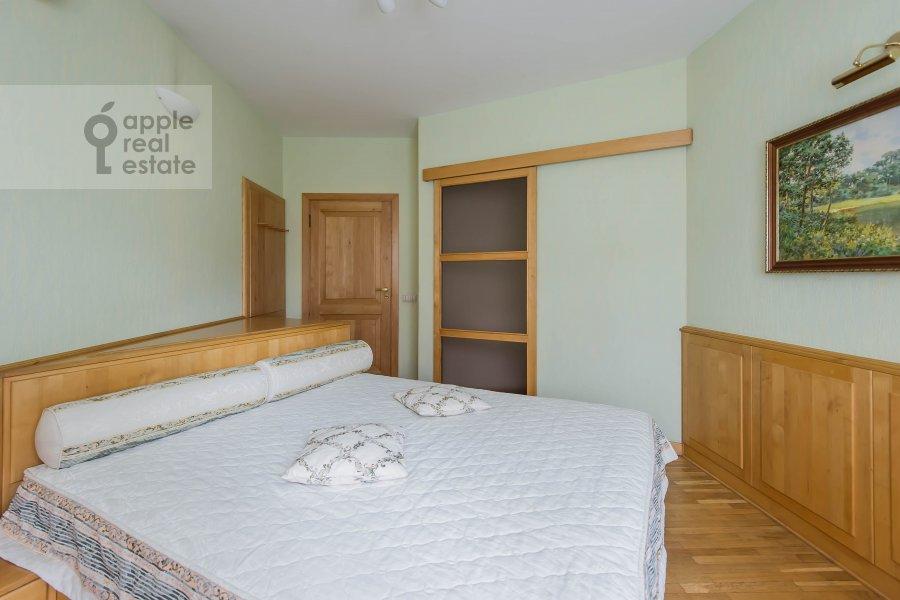Bedroom of the 3-room apartment at Leninskiy  pr-t. 137k1