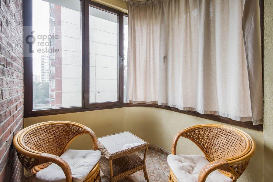 Balcony / Terrace / Loggia of the 3-room apartment at Leninskiy  pr-t. 137k1