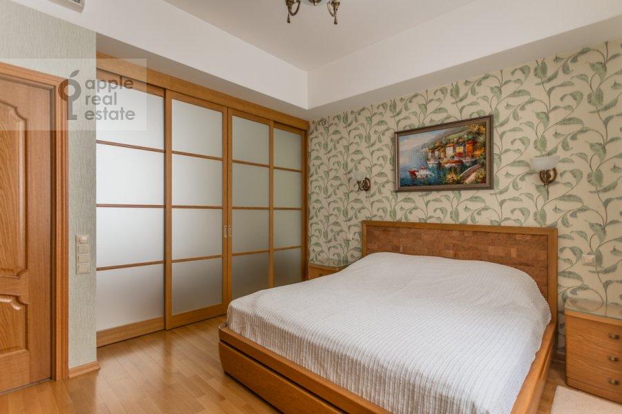 Bedroom of the 3-room apartment at Tverskaya-Yamskaya 1-ya ul. 11