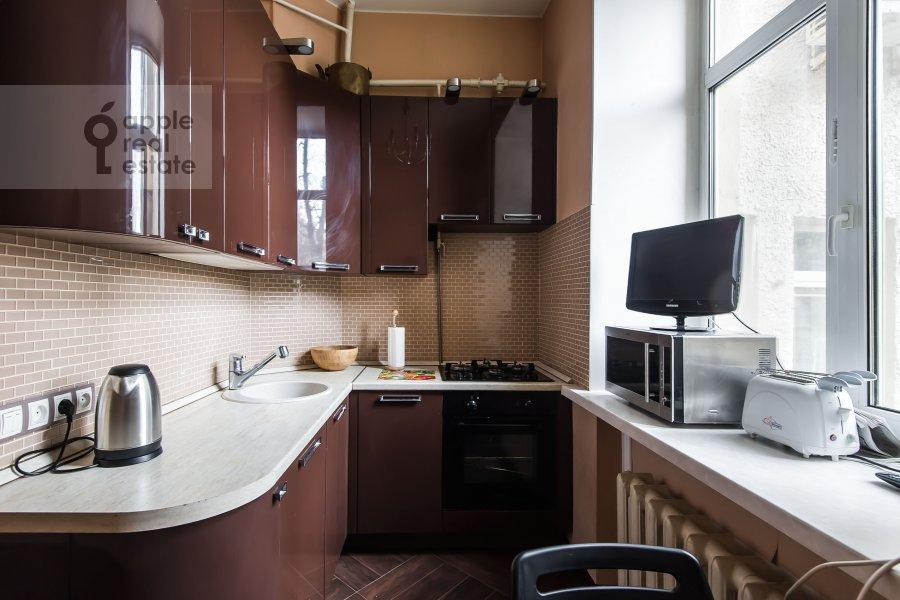 Кухня в 3-комнатной квартире по адресу Ленинградский пр-т. 26к1