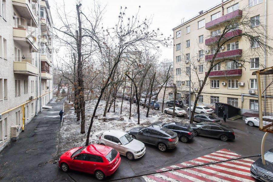 Вид из окна в 3-комнатной квартире по адресу Ленинградский пр-т. 26к1