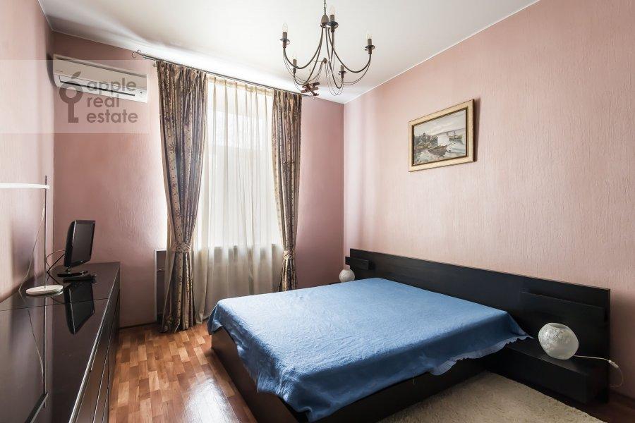 Спальня в 3-комнатной квартире по адресу Ленинградский пр-т. 26к1