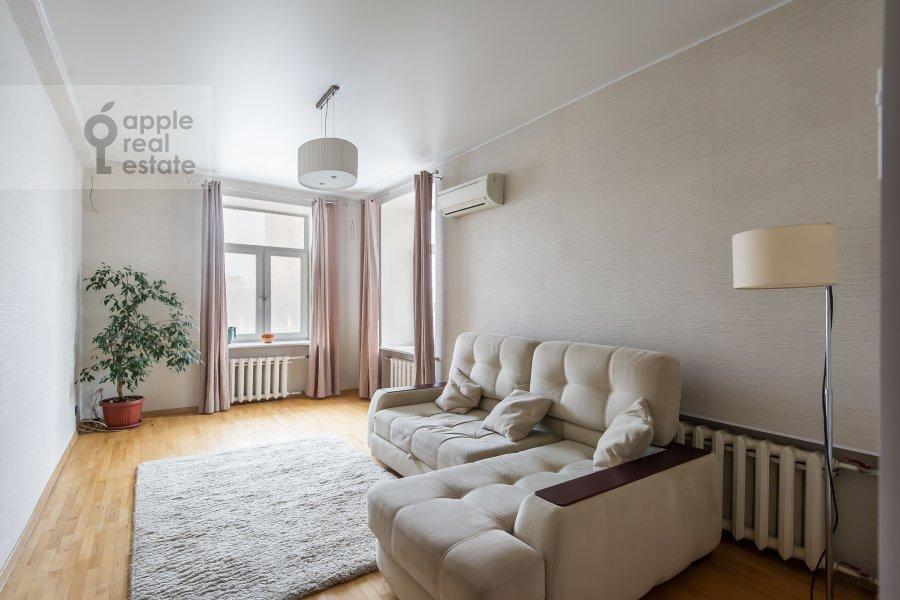 Гостиная в 3-комнатной квартире по адресу Ленинградский пр-т. 26к1