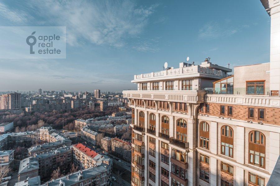 Вид из окна в 2-комнатной квартире по адресу Чапаевский пер. 3