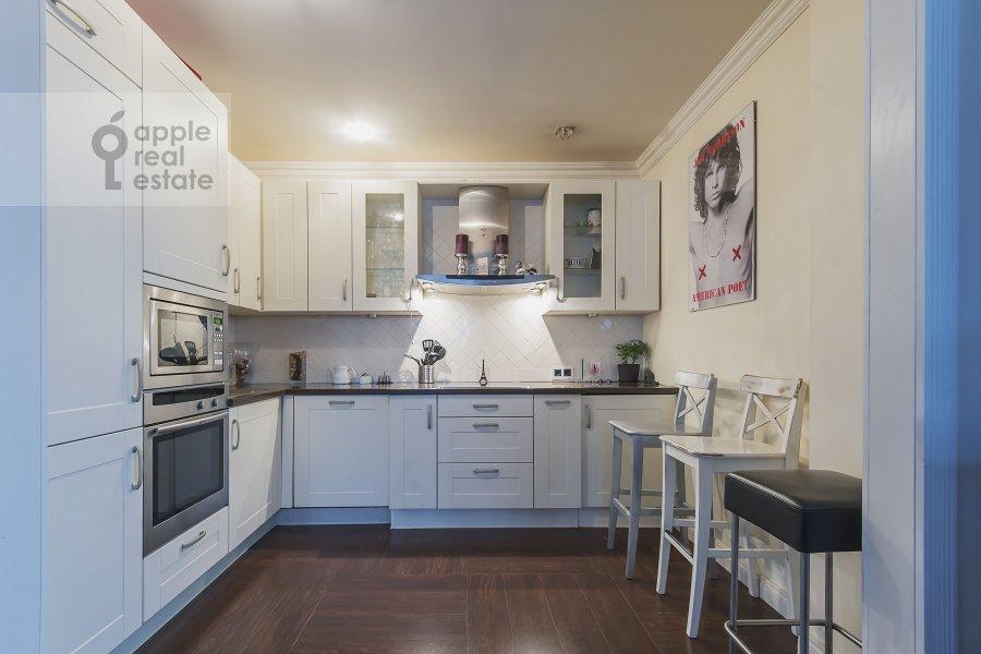 Кухня в 3-комнатной квартире по адресу Новый 2-й пер. 4