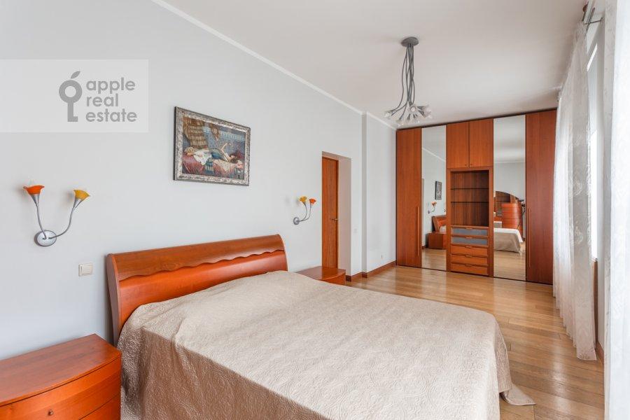 Спальня в 3-комнатной квартире по адресу Ленинский просп. 72/2